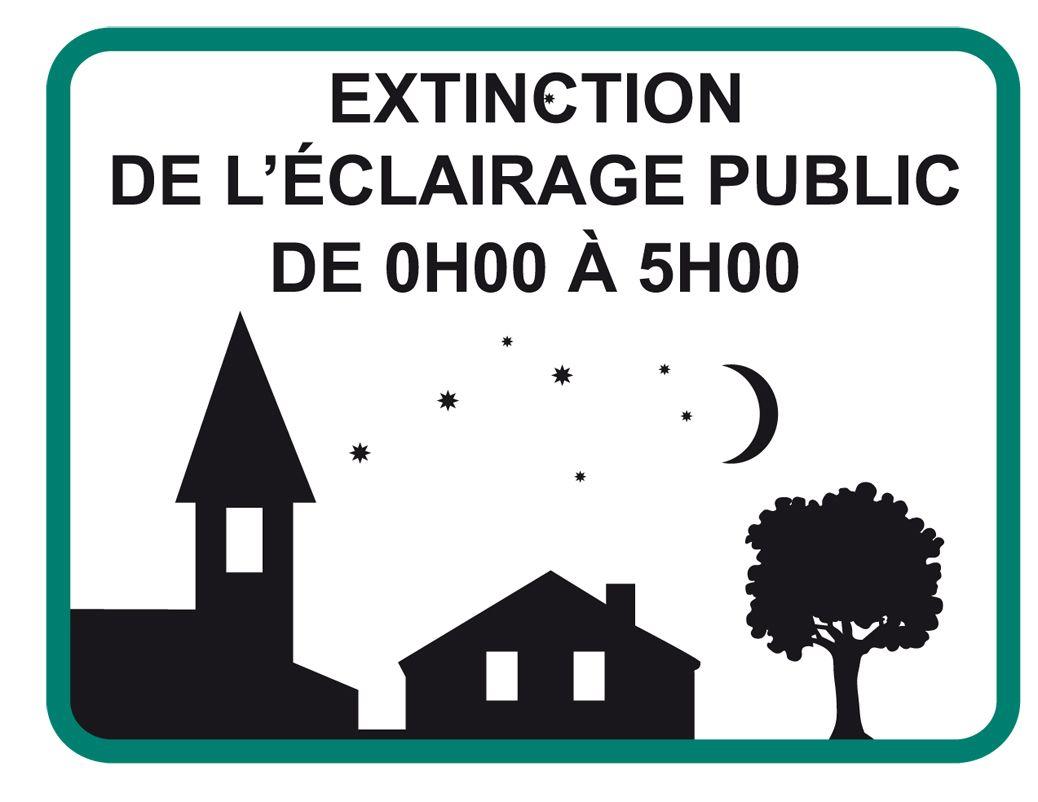Extinction Partielle De L'éclairage Public Nocture